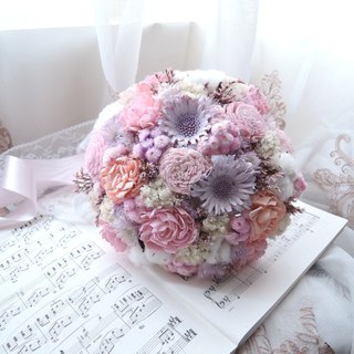 [Love in early spring] dry flower bouquet / bridal bouquet / wedding bouquet / romantic / dream