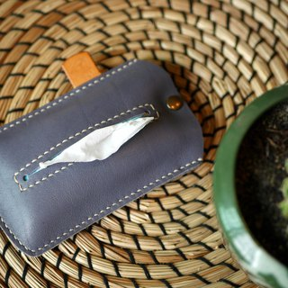 Tissue Pouch / Tissue Pocket Handmade Genuine Leather