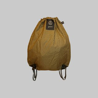 groin waterproof bag - back section (M) - defined paragraph - paragraph beans beige cloth flocking