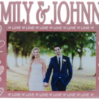 Custom engraved photo frame (4R photo) - the aspect A personalized theme x