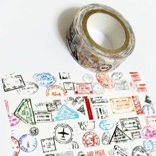 Customized Mini Washi Tape Thousands Miles Away From Home