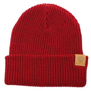 Literary Youth Warm Hood - Hot Red