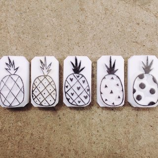Cover which hand seal [big luck big pineapple _ five subscripts] five big pineapple together to take away also send a hidden version, only to send not to sell!