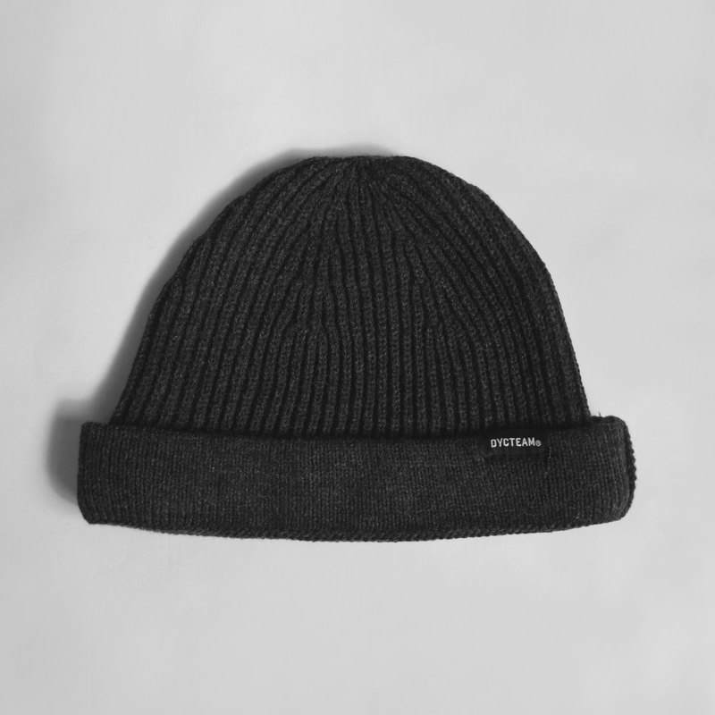 DYCTEAM - Fisherman beanie (dark gray)
