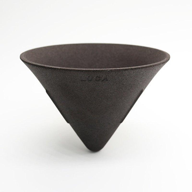 LOCA咖啡陶瓷濾杯 V形L號