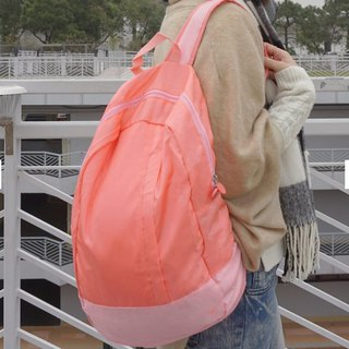 LUSH | Folding Light Backpack - Coral