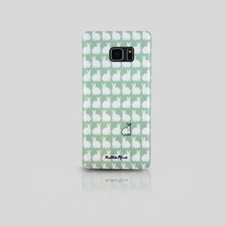 (Rabbit Mint) Mint Rabbit Phone Case - Little Rabbit Pattern Series - Samsung Note 7 (00066)