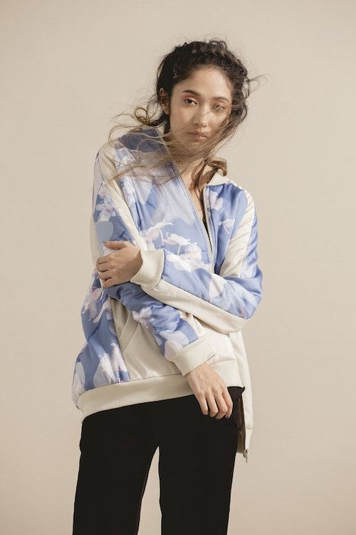 Orchid Printed Cotton Jacket