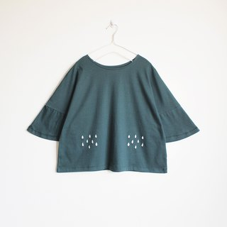 rainy blouse : green