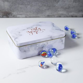 Your name girl marbles box glass marbles carved Christmas custom