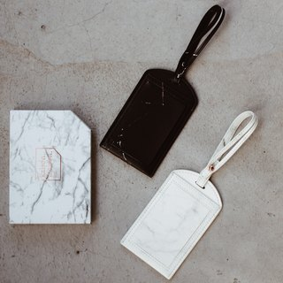 Marble Luggage Tag 1+1 Special Group