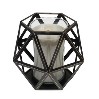 [WW] VIVAWANG fragrance candle accessories - Geometric wax metal cup holder -LARGE