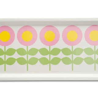 Nordic cute retro flower Floryd beech pallets