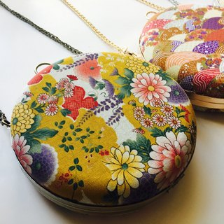 Bagel Bag - Japanese Mustard Flowers