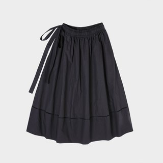Full cotton patchwork pleated skirt