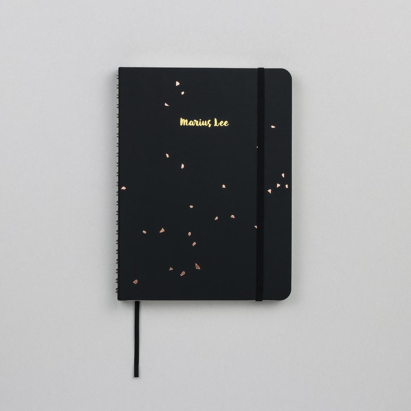 Black Speckle A5 Notebook / Sketchbook