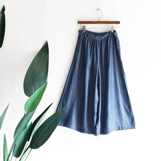 River Water Mountain - Tottori Sea Blu-ray Rock Independence Age Antique Cotton Tannin Wide Pants