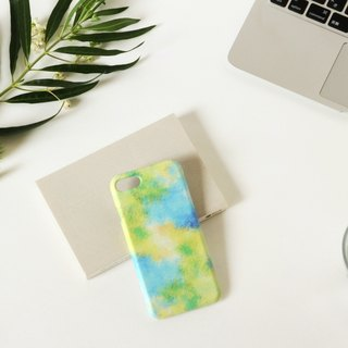 [Order Production] iPhone / Android Case | Blue fog and yellow sky's smart case