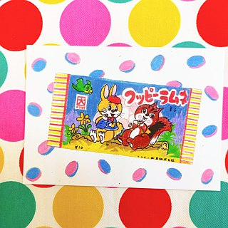 Showa Toys Hand-painted Postcard - Sugar Tablets