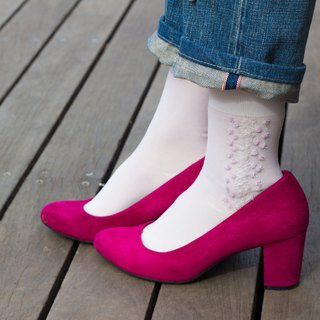 Afterimage # Peach socks Shoes socks RORO SOCKS