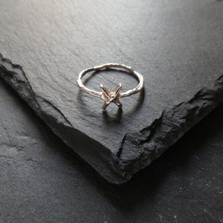 Único Series -  X  - 925 Sterling Silver Ring
