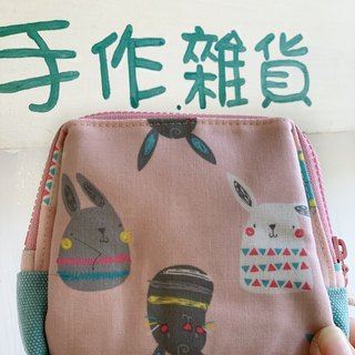 [Good day hand made] Handmade. Cute bunny storage bag. packet. gift