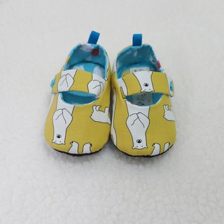 Polar bear baby toddler shoes