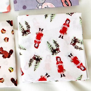 7321 Cotton Handkerchief - NL Little Red Riding Hood, 73D87943