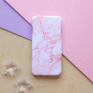 Pink Marble. Matte Case (iPhone, HTC, Samsung, Sony)