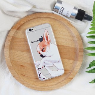 Cute Chihuahua Apple 7 Mobile Shell iPhone6Splus Cover 5SE Silicone X Soft XR Transparent XSMAX