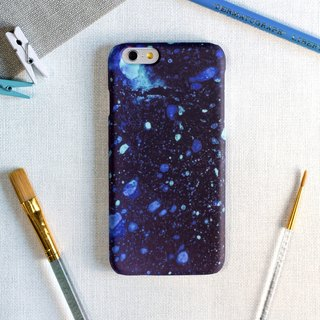 Blue ink-jet style. Matte Case (iPhone, HTC, Samsung, Sony)