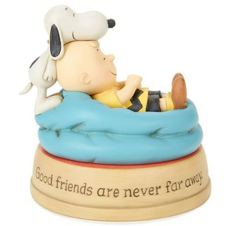 Snoopy Hand-Sculpture - You are by my side [Hallmark-Peanuts Handicrafts]