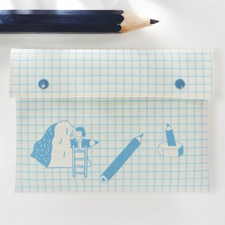 Pencil Grid / Stationery Bag