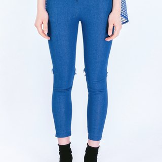 ZIZTAR and denim dance trousers BWL-S16-039