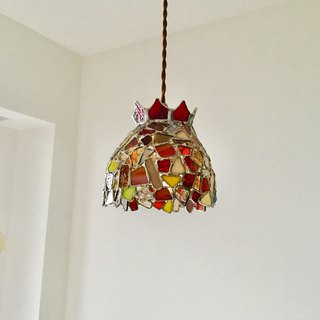 Pendant light Jewel night Red gradation Bay View