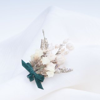 Her Bouquet beloved antique green | dried flower hairpin bronze beige flower Kasibiya Star Pro