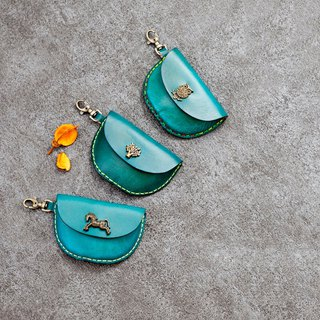 Be Two ∣ Shi Erqi blue handmade styling buckle purse / key ring / sundries ( You Design )