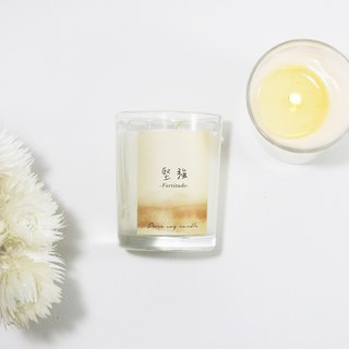 4th Floor Apartment Natural Soybean Oil Candle - Strong - Calm Woody Notes