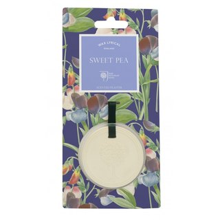 British RHS series sweet pea fragrance hanging piece