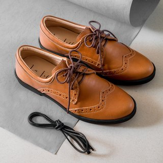 Classic oxford shoes_brown