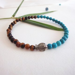 - Things such as fish - Lapis Tiger Eye Bracelet fine