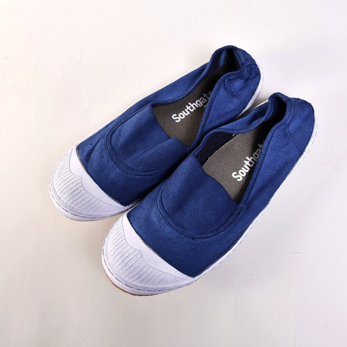 ANN-d/dyeing series/Navy/canvas shoes/lazy shoes/leisure shoes/leisure shoes