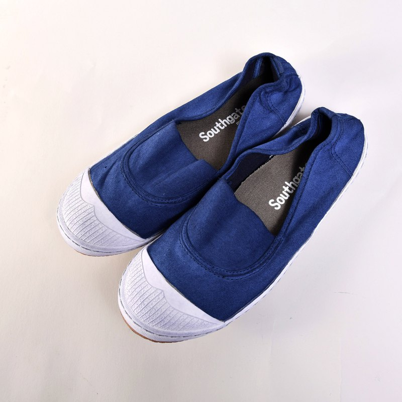 Casual shoes-ANN-d navy blue