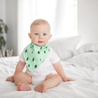 Copper Pearl Bib 4 Pieces - Jungle Adventure X001IHPF4L
