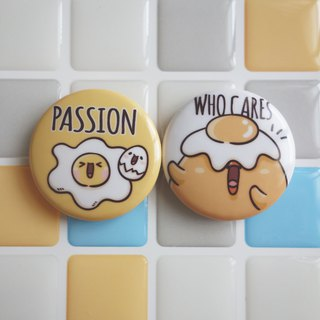 Pin Magnet Two in One Small Badge 3 - Passion / (1 serving 2 in)
