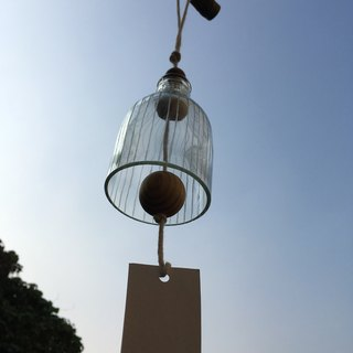 Ruled glass. Wind chimes (material package)