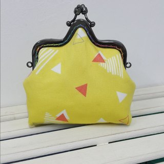 Small triangle coin purse / crown mouth gold package [CB170719]
