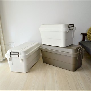 Japan TRUNK CARGO two color optional multi-functional environmental protection heavy storage box 70L two color optional