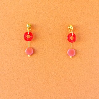 (2) Egg earrings / Egg clip (EH025)