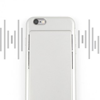 [Oshi OSHI] Dual Speaker Mobile Shell - Silver (For iPhone6 ​​Plus/6s Plus)